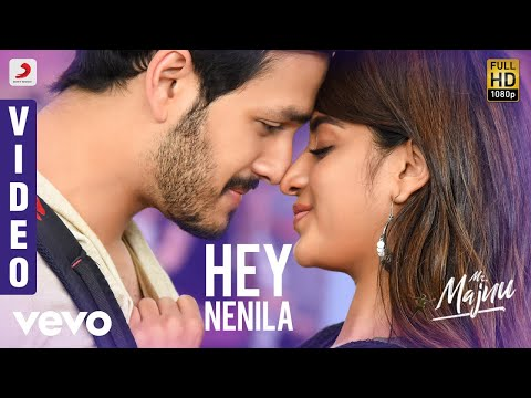 Mr. Majnu - Hey Nenila Telugu Video | Akhil Akkineni, Nidhhi | Thaman S