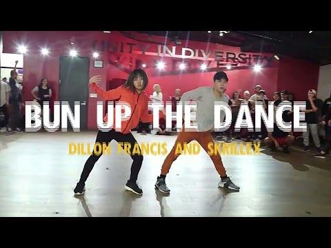 ''BUN UP THE DANCE'' - Dillon Francis & Skrillex   Bailey Sok & Sean Lew   Kyle Hanagami Choreo
