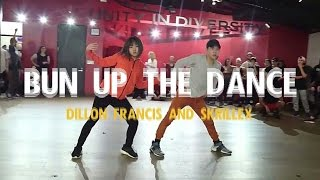 bun up the dance dillon francis skrillex bailey sok sean lew kyle hanagami choreo