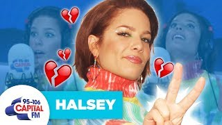 Halsey Reveals Break-Up Inspired Her New Song | FULL INTERVIEW | Capital