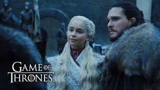 Первые кадры 8 сезона Игры престолов (GOT 8 seasone first look)