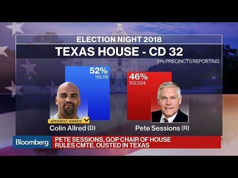 Pete Sessions Ousted in Texas by Democrat Colin Allred