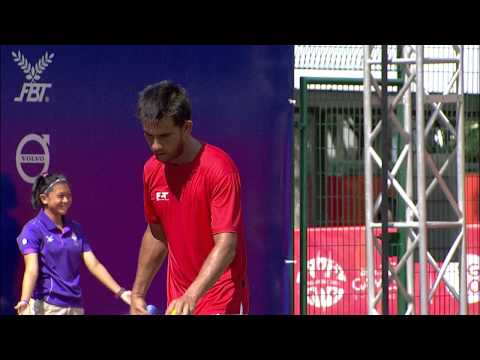 Tennis Men's Singles Singapore vs Myanmar  (Day 5) | 28th SEA Games Singapore 2015