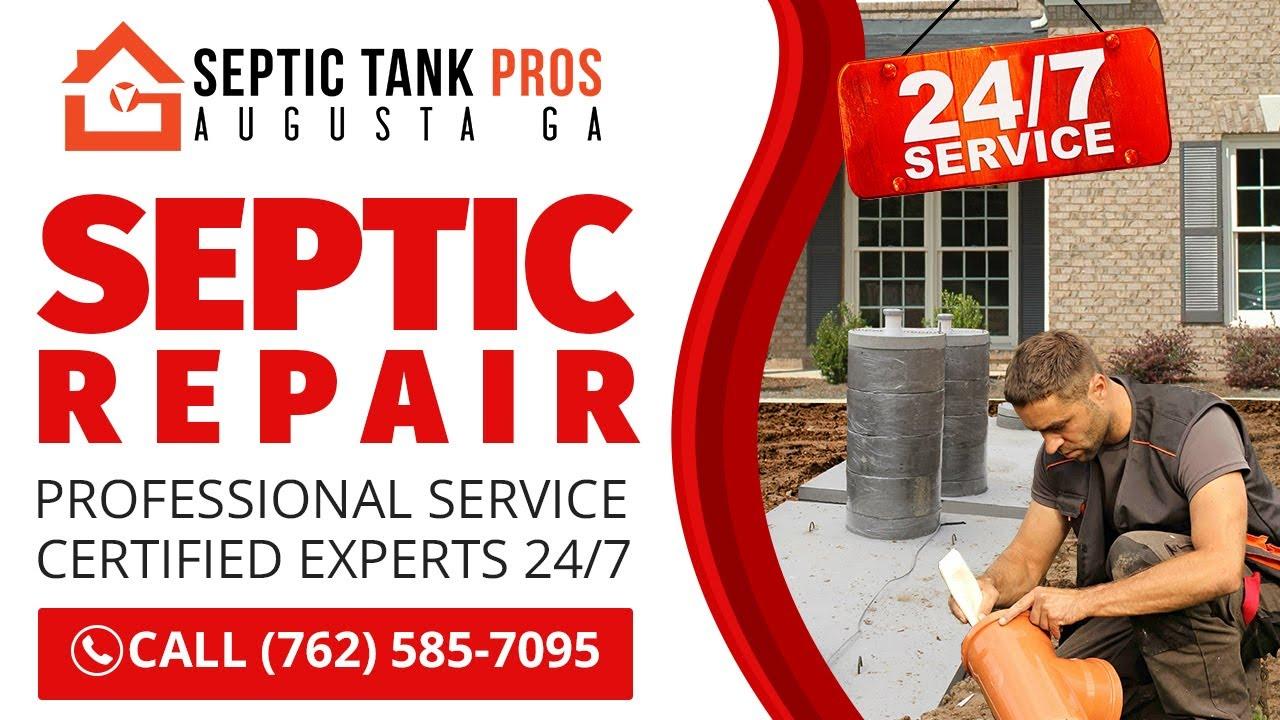 Septic Repair Augusta GA | Call (762) 585-7095