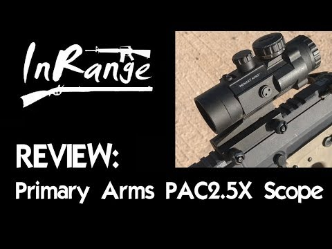 Review: Primary Arms 2.5X ACSS Scope