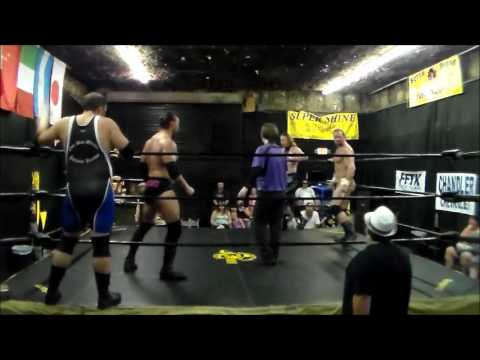 Josh Lewis and Eric Draven vs Johnny Justice and Rob Conway NWA Supreme 7/9/2016