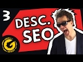YouTube Video Description Template & Video Description SEO