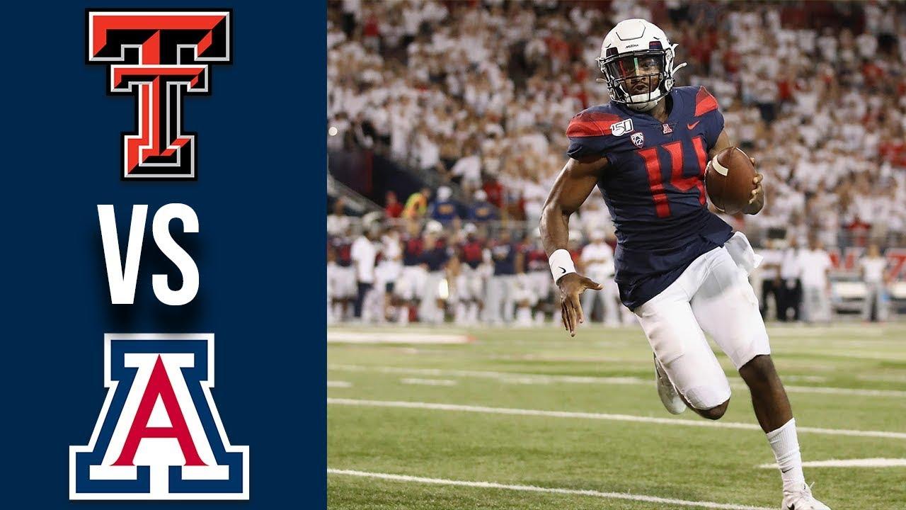 Week 3 2019 Texas Tech vs Arizona Full Game Highlights 9/14/2019