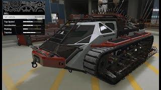 GTA 5 - Arena War DLC Vehicle Customization - Apocalypse Scarab Tank and Review