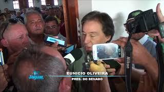Senador Eunício Oliveira esclarece sobre aliança com Camilo e os Ferreira Gomes
