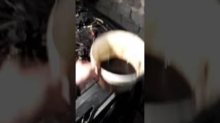 Состояние масла после промывки BG-109