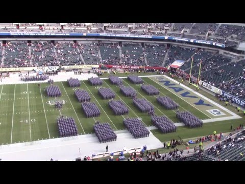 "Corps of Cadets ""March On"" at 2015 Army-Navy Game"