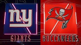 Madden 20 Week 3 Giants @ Buccaneers (PC 4K)