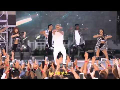 Justin Bieber - Sorry LIVE subtitulado al español.