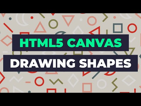 Learn HTML5 Canvas - DRAW - HTML & JavaScript Tutorial