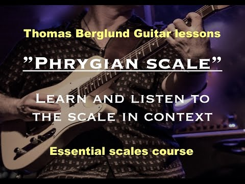 Learn the Phrygian scale - Guitar lessons
