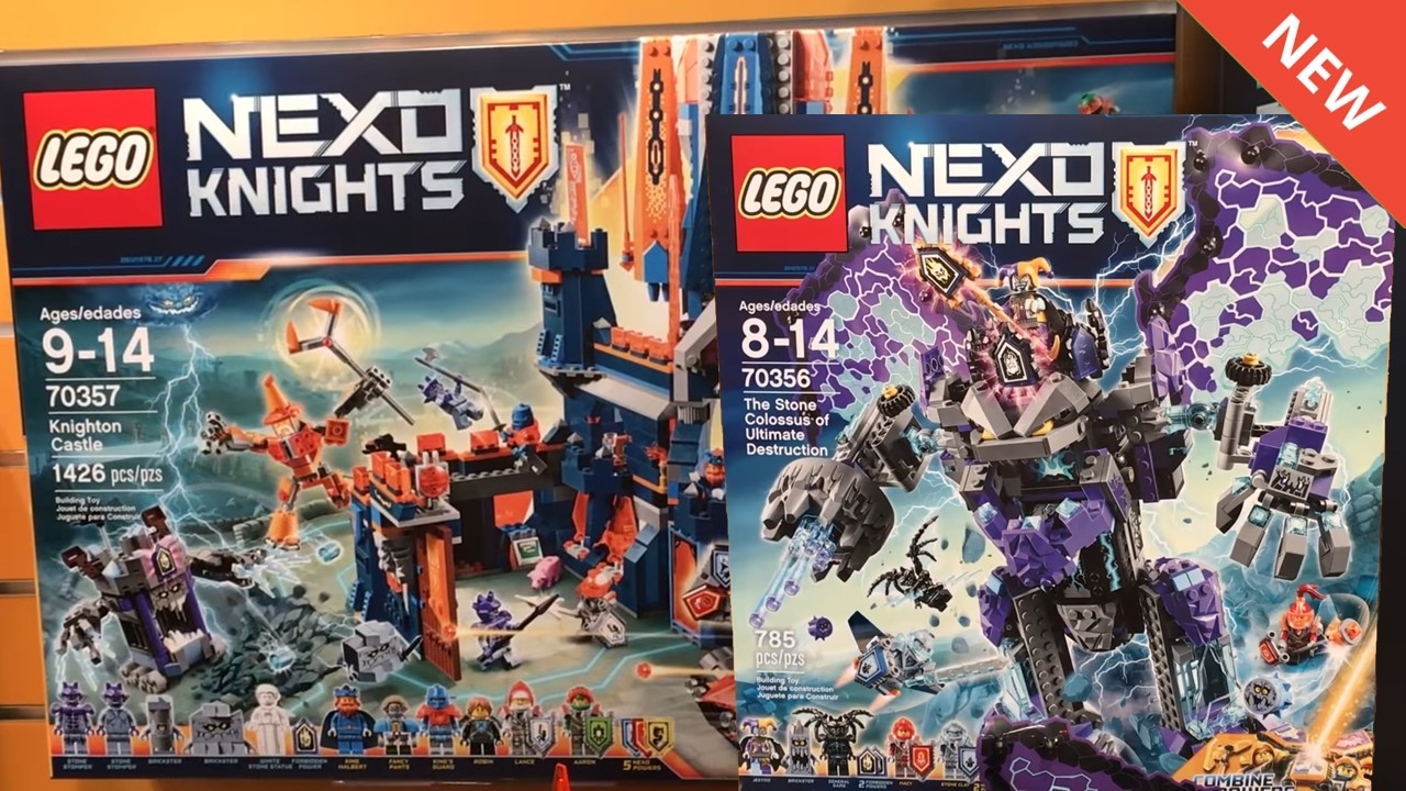 Lego Nexo Knights Summer 2017 Sets Images Youtube