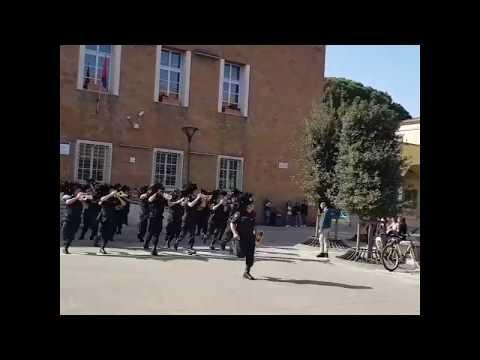 Ingresso della Fanfara Bersaglieri di Roma Capitale a Pomezia
