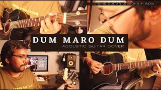 Dum Maro Dum Acoustic Guitar Cover   Online Guitar Classes in India  Online Guitar Teachers in India