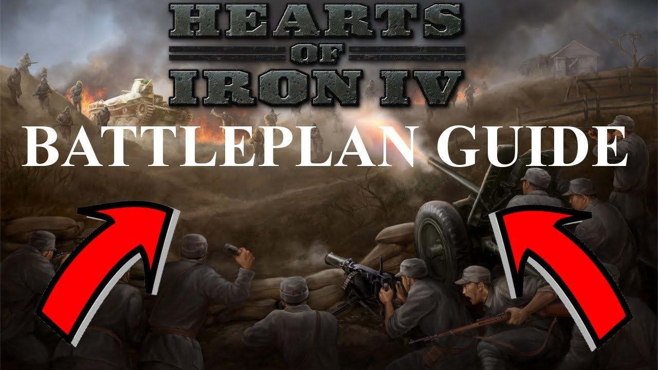 Hearts of Iron IV - Battleplan Mini-Guide/Tutorial