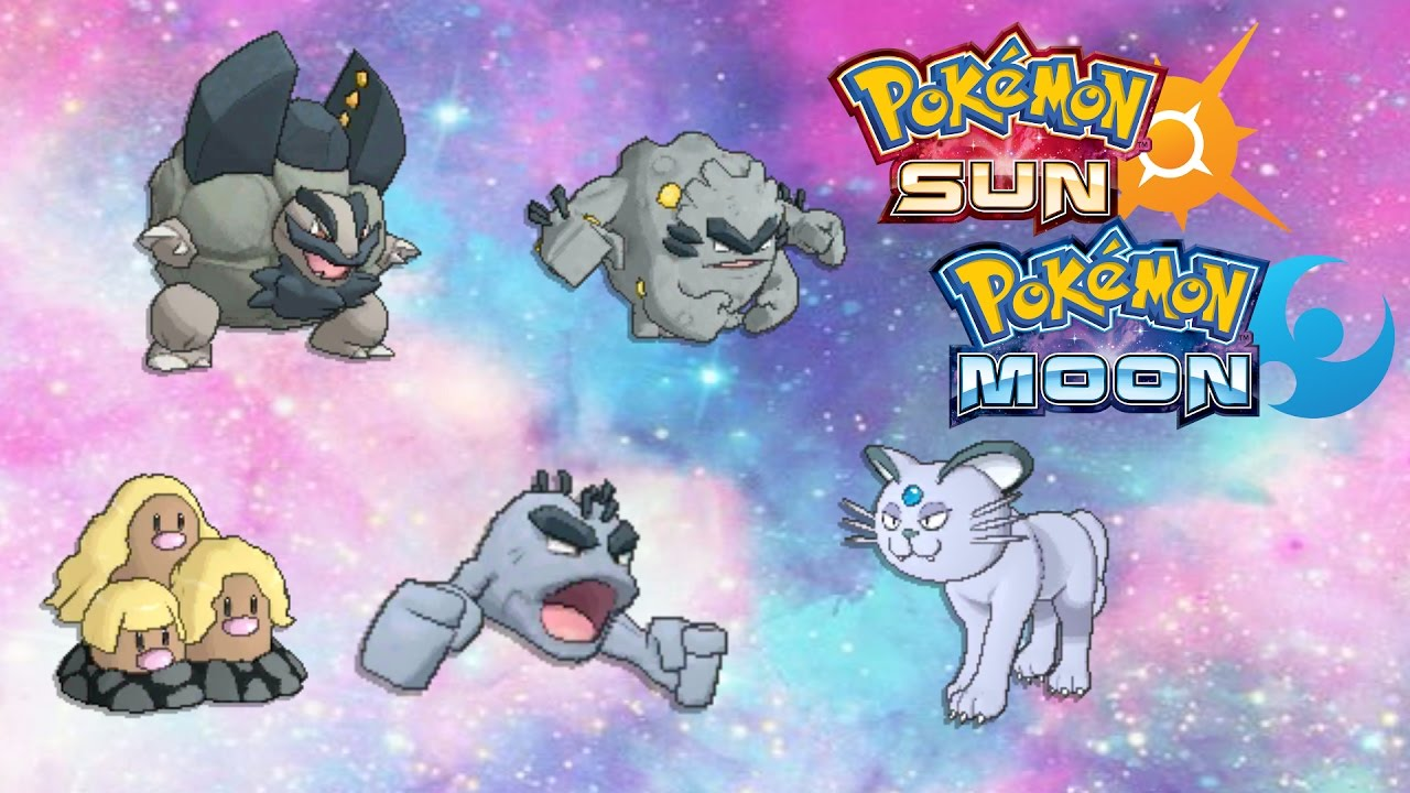 All Alolan Forms In Pokemon Sun And Moon Leak! - Alolan Persian ...