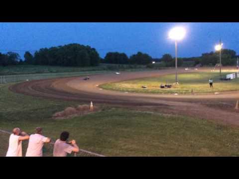 Jr 1 Feature Race, Delaware Speedway, Delaware IA 6.11.16