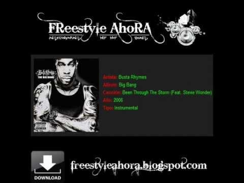 Busta Rhymes (feat. Stevie Wonder) - Been Through The Storm (Instrumentals Hip Hop).wmv