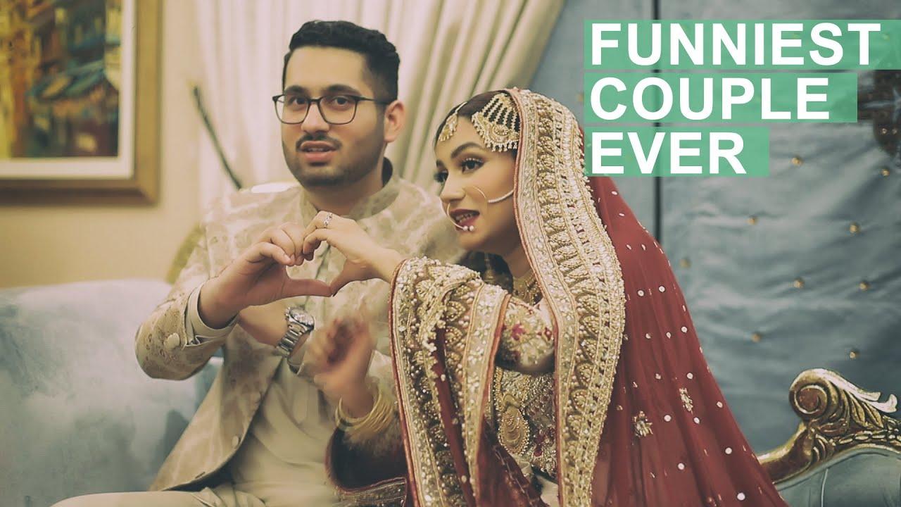 FUNNIEST COUPLE EVER // Sarah & Mohsin // TWSF