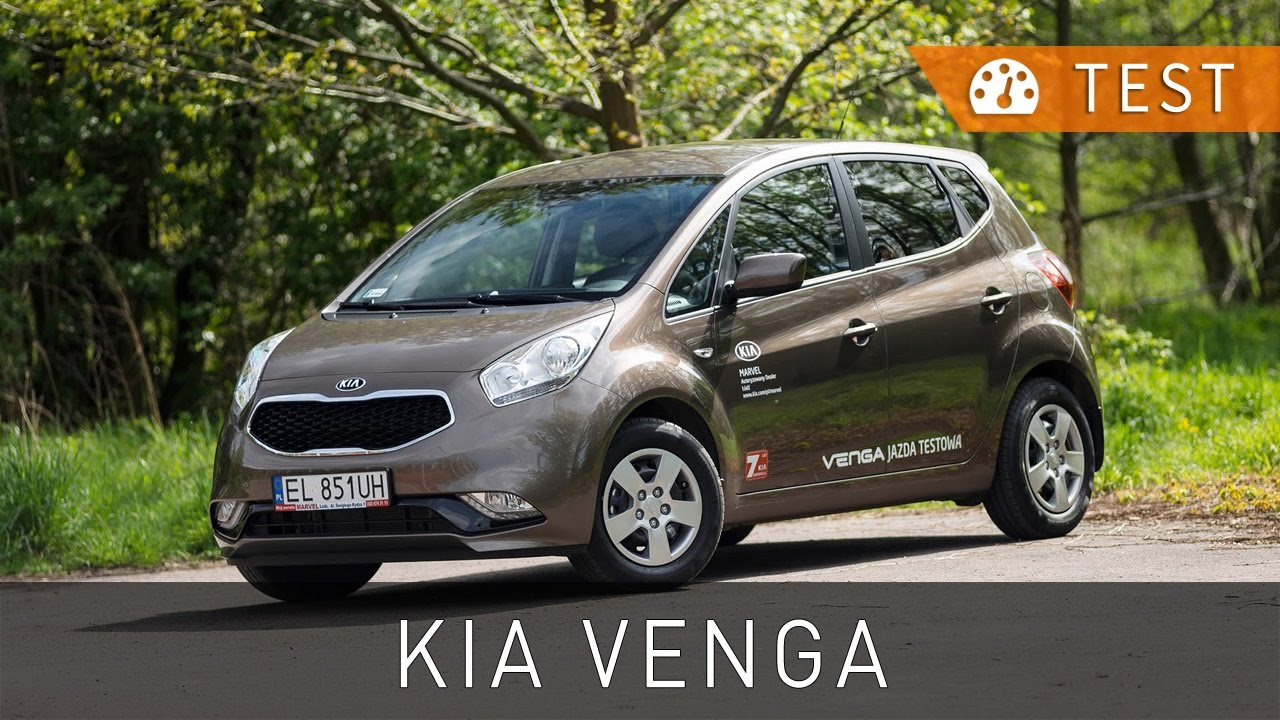 KIA Venga 1.4 DOHC L (2015) - test [PL] [review ENG subs] | Project Automotive - YouTube