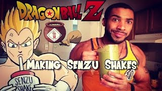 How to Make a Dragon Ball Z Senzu Bean Shake!!