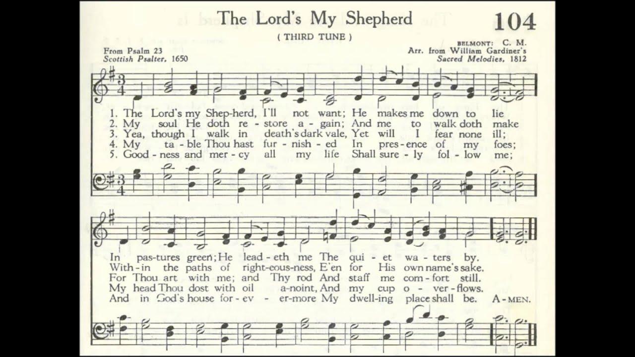 The Lord S My Shepherd Belmont