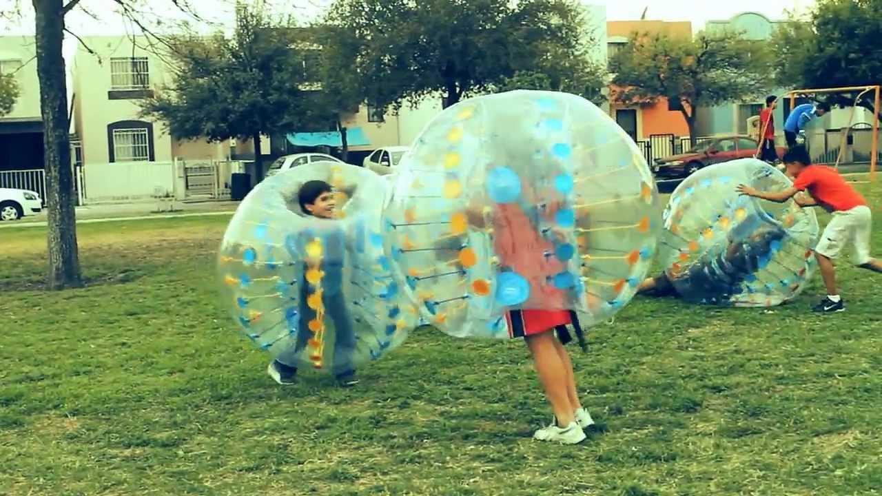Bumper balls, Pelotas Choconas, Inflables - YouTube