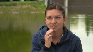 Simona Halep   Mutua Madrid Open Pre-Tournament Interview