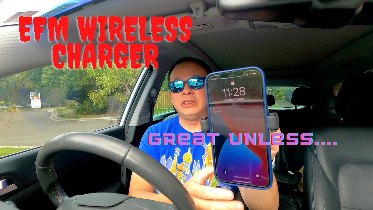 EFM Wireless Car Charger Review