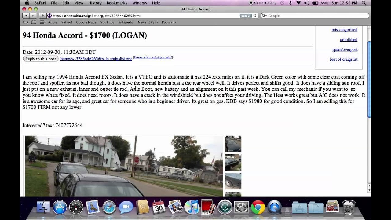 Craigslist Athens Ohio Used Cars Popular Makes And Models Under