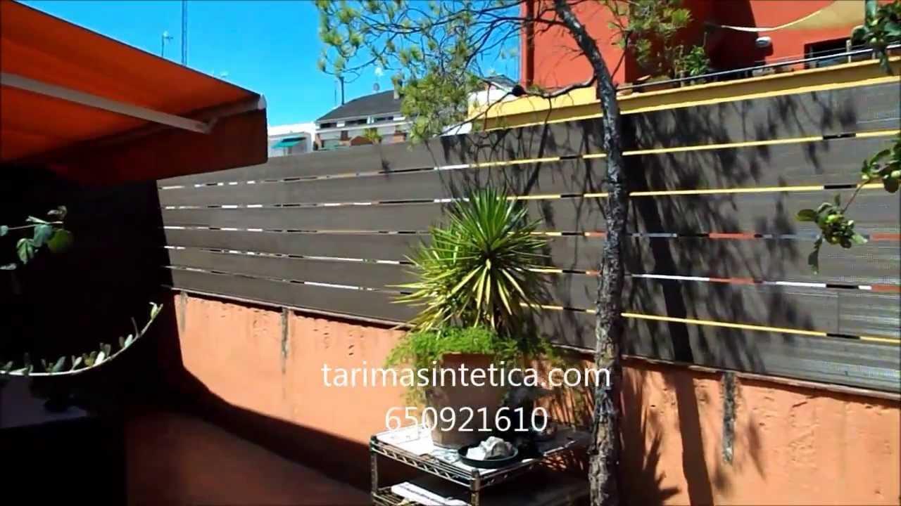 terraza con separador para zona de colada youtube
