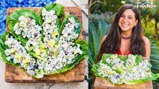 FullyRaw Vegan Un-Chick'n Salad!