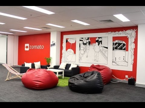 This Is How Zomato Office looks like - YouTube