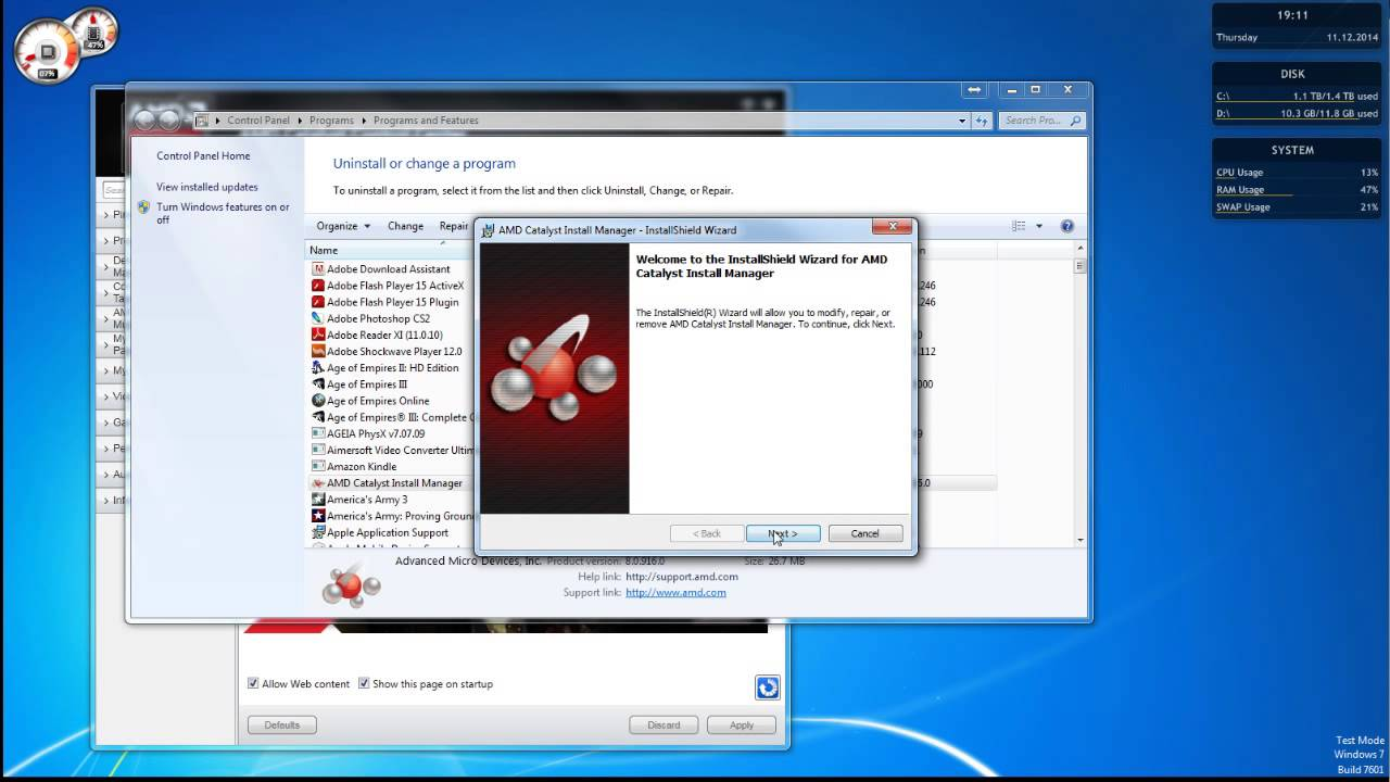 catalyst control center download windows 7 64 bit