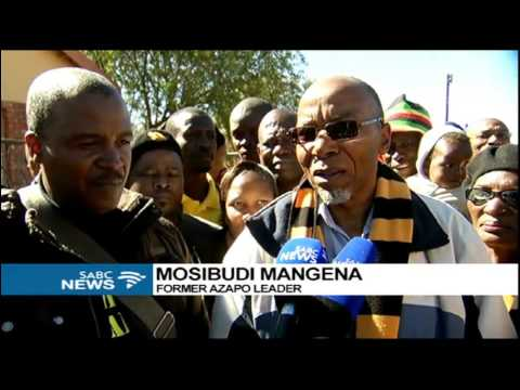 Azapo's Mangena campaigns in the Northern Cape