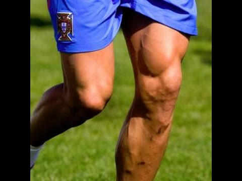 Cristiano Ronaldo leg muscle