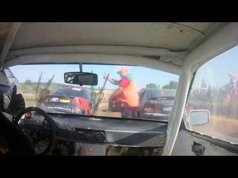 Autokrosas Rokiškis First Run | Honda Civic on board | Engine Failure