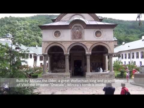 What to visit in Romania: Cozia Monastery near Sibiu/Ramnicu Valcea