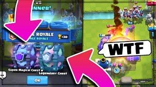 🔴 איך זה אפשרי? זכינו ב Super Magical Chest וגם Legendary Chest באמצע סרטון? (לא אפשרי!!)