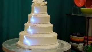 Cake Mapping at a bride show in Pittsburgh.