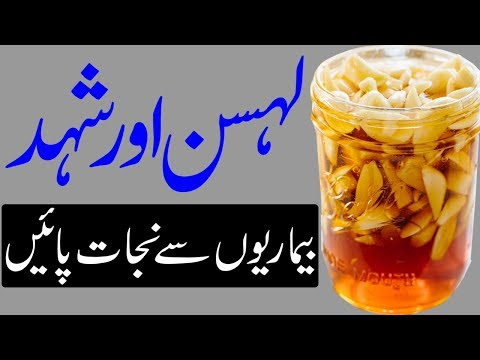Health Benefits of Garlic and Honey | lehsan aur shahad ke fayde | لہسن اور شہد کے فوائد