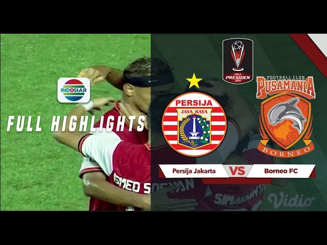 Persija Jakarta (5) vs (0) Borneo FC - Full Highlights