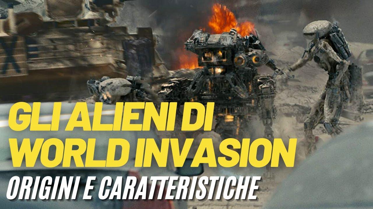 Gli ALIENI di WORLD INVASION: BATTLE LOS ANGELES