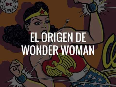 El origen de Wonder Woman, por Mareo Flores