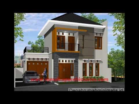 Desain rumah minimalis tingkat 2 lantai